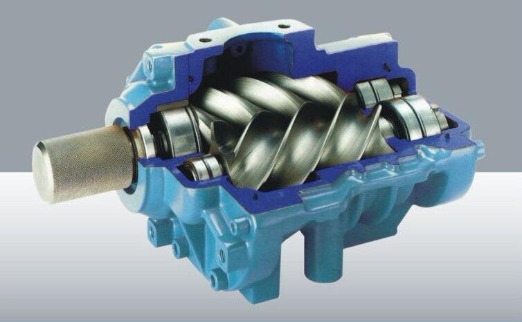 双螺杆压缩机的基本结构