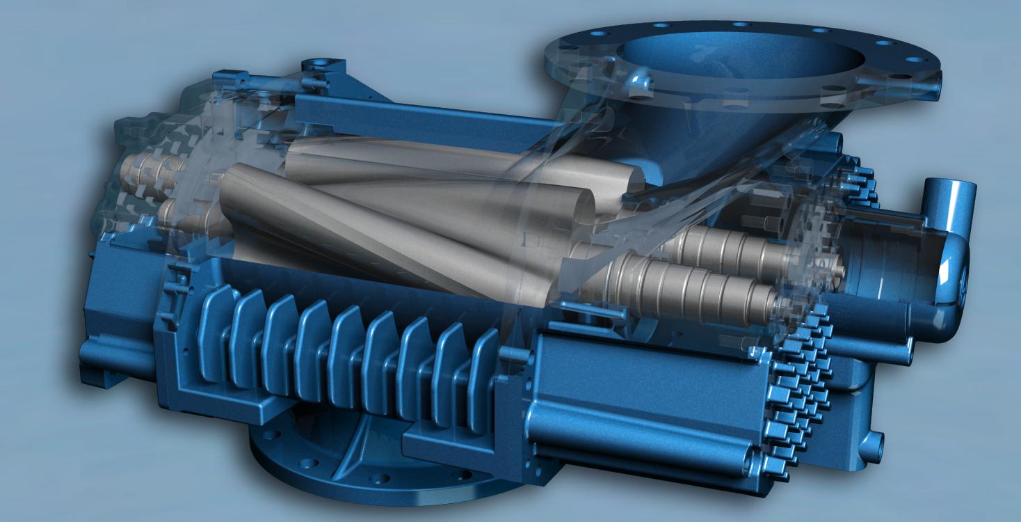 Aerzen螺杆风机是扭叶风机和螺杆压缩机产品之间的技术优化结合的成果,提取两个领域的技术优势,使它发挥更大的优化性能。7项专利和专利申请,使得Aerzen Delta Hybrid螺杆风机成为了优势技术领域最具创新意义的产品之一。 同时,Aerzen Delta Hybrid螺杆风机具有高效率、低成本、易操作、高稳定等性能优势。 1.
