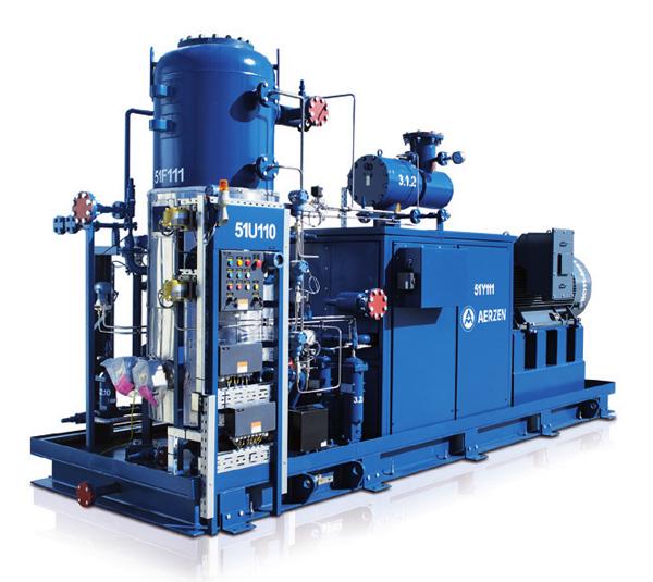 用于制冷技术和工艺气体的VMY系列压缩机机组