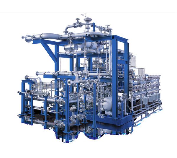 用于工艺气体技术的VR系列正压整装压缩机机组
