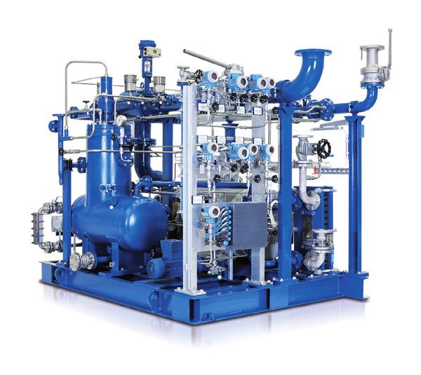 VMX系列喷油沼气压缩机机组